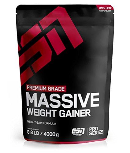 ESN Massive Weight Gainer, 4000g Vanilla Ice Cream