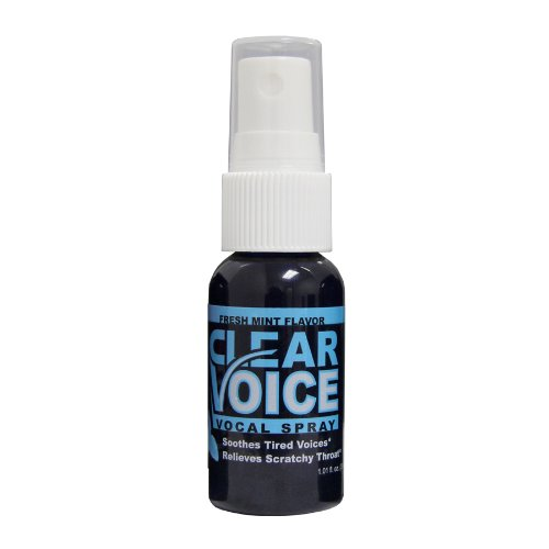 Clear Voice Vocal Spray- 1 Bottle