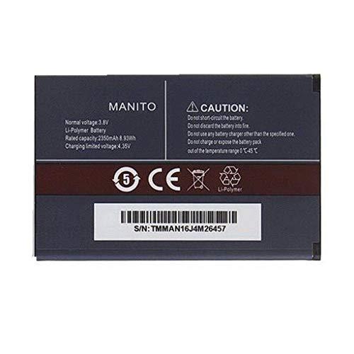 Bestome - Batería de Repuesto Compatible con batería Recargable de 2350 mAh para Smartphone Cubot Manito