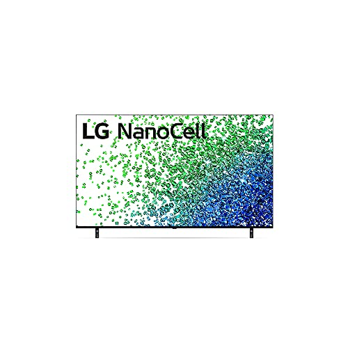 "2021 Smart TV LG 55"" 4K NanoCell 55NANO80 4x HDMI 2.0 Inteligência Artificial ThinQAI Smart Magic Google Alexa"