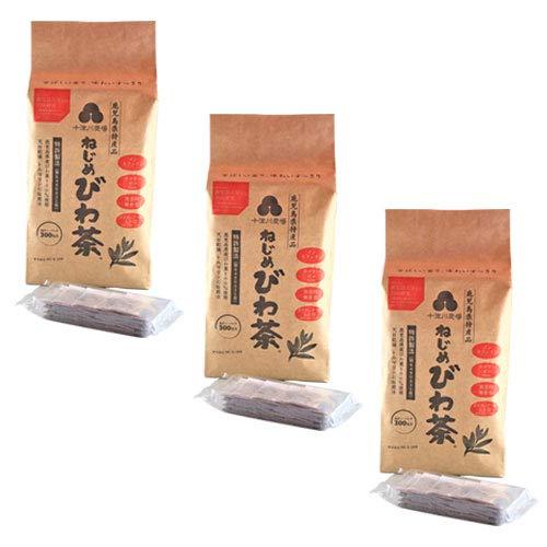 十津川農場 ねじめびわ茶300 (2gティーバック 300包入)×3箱セット 【12包増量中】