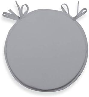 Soleil d'ocre Cojín para Silla bistrot 40 cm Alix Gris