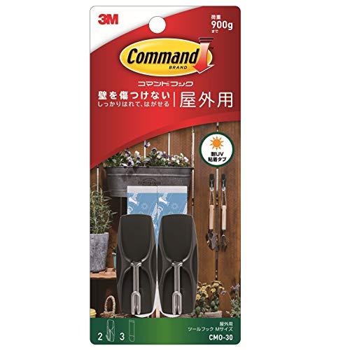 3M コマンド フック 屋外用 ツールフック Mサイズ CMO-30の写真