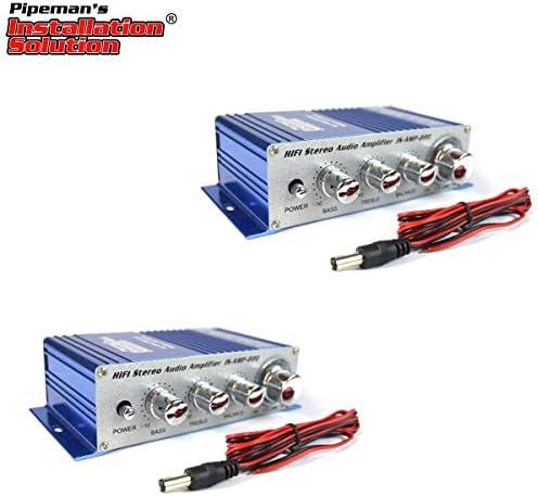 Top 10 Best 2 channel stereo pa mini amplifier 4 to 16 ohm 20 watt 3.5