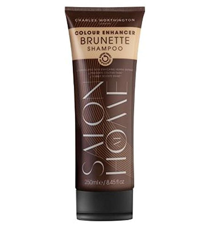 バックアップ社会科組立Charles Worthington Colour Enhancer Brunette Shampoo 250ml - チャールズ?ワージントンカラーエンハンサーブルネットシャンプー250ミリリットル (Charles Worthington) [並行輸入品]