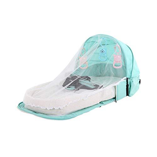 Eileen Ford Einfache Installation |Babybett Reise Sonnenschutz Moskitonetz mit tragbarem Baby Faltbarer Baby-Schlafkorb -PJ057D-
