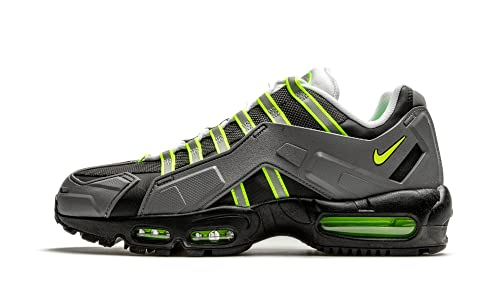 Nike Zapatos Hombre Air Max 95 NDSTRKT Neon CZ3591-002, (Negro/Gris Medio/Amarillo Neón), 45 EU
