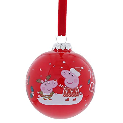 Peppa Pig Bauble, Multicoloured, one size