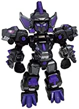 "Tuban DinoCore Evolution Part 2 Mini Dark D-Buster Action Figure with 14 Moving Joints, Multicolored, 8"" Scale"