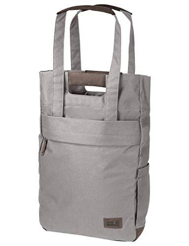 Jack Wolfskin Piccadilly Einkauf Shopper Tasche, Clay Grey, ONE Size