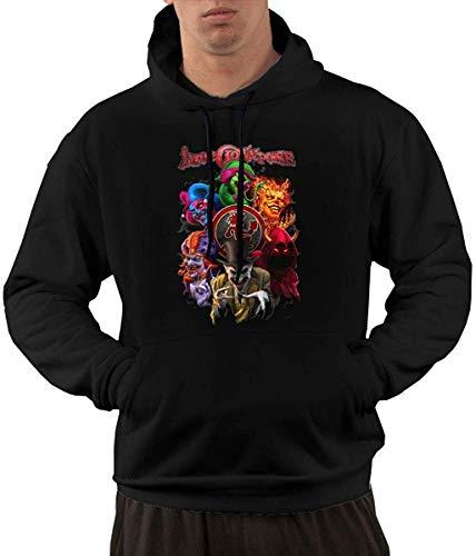 Beiläufiges langärmliges mit Kapuze Sweatshirt Insane Clown Posse Men's Hoodies Sweater Fashion Long Sleeve Top Pocket Hooded Sweatshirts