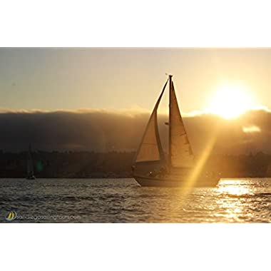 San Diego Sailing Tours Gift Card - 2 hour Sunset Sailing Cruise