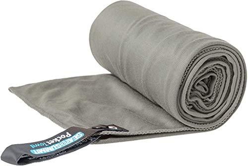 Sea to Summit Pocket Towel, Grey, X-Large