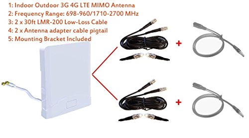 3G 4G LTE Breitband-MIMO-Antenne für Huawei B618 B618s 4G LTE WLAN-Router Cuber