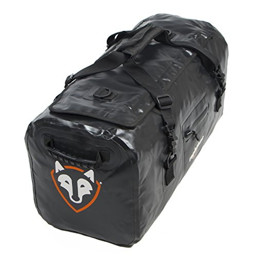Rightline Gear 100J86-B 4x4 Duffle Bag, 60L, Weatherproof +, Attaches In or On Your Vehicle,Black