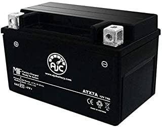 Kymco Super 8 50 2T 50CC Motorcycle Replacement Battery (2011-2014) - This is an AJC Brand Replacement