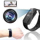 WiFi Video Recording Bracelet & Mini Hidden Camera Tiny Spy Camera 1080P HD Camera Wearable Video Recorder Portable Smart Bracelet Watches for Video Photo Recording