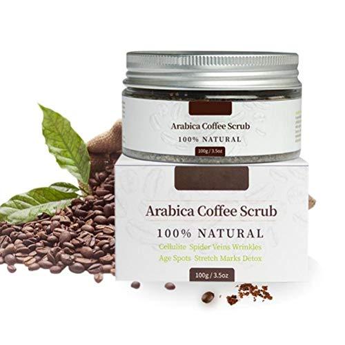 Snow forest 100g Kaffee-Körperpeeling Natürliche Grausamkeit Kostenloses Peeling-Körperpeeling Hautpflege-Körperpeeling Natürliches Kaffee-Peeling mit...