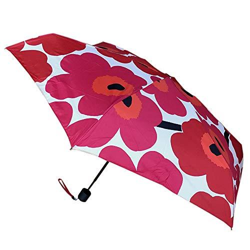 Marimekko - Pieni Unikko - Regenschirm - weiß/rot - D 95 cm