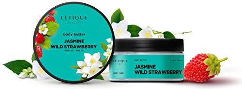 "LETIQUE Cosmetics - Körperbutter -""Body Cream Butter Jasmine- wild Strawberry"" 200ml"