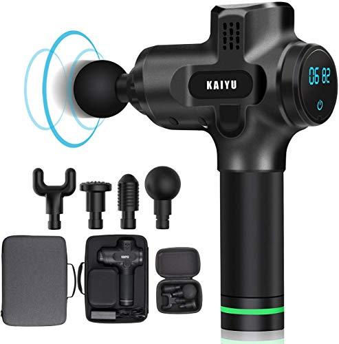 Check Out This Massage Gun,KAIYU K3 Pro. (Black)