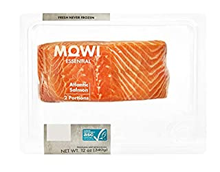MOWI Fresh Atlantic Salmon, Skin-On, Responsibly Farm-Raised, 12 oz