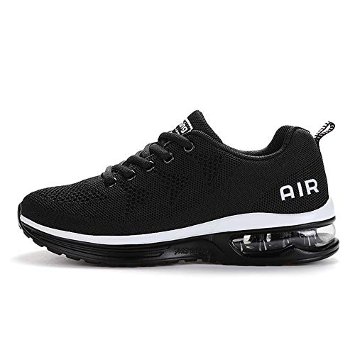TORISKY Sportschuhe Herren Damen GolfschuheTurnschuhe Laufschuhe mit Luftpolster Sneaker Air Schuhe Leichte(A35-BK42)