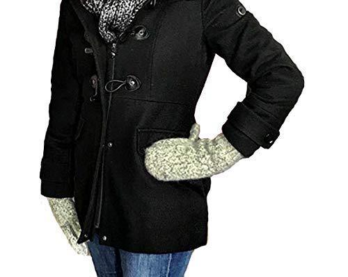 Dachstein Woolwear Extreme Warm 100% Austrian Boiled Wool Alpine Mittens in Natural Grey (6.0)