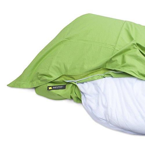 SMOOTHY Premium Sitzsack Inlett aus Nylon - Innensack für Sitzsäcke und Sitzkissen Universalgröße 180x140cm