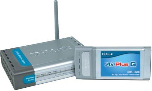 D-Link DWL-923 Wireless G Laptop Ultra-Cheap Deals Wireles Kit DI-524 with Starter Award