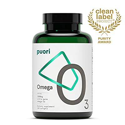PurePharma O3 Omega Ultra Pure Fish Oil - Pack of 120 by PurePharma
