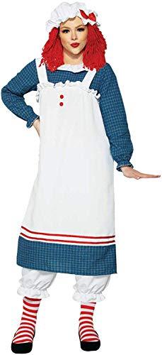 Forum Novelties Miss Dolly Adult Costume, Standard Blue