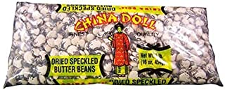 Pack of 3 China Doll Dried Speckled Butter Beans