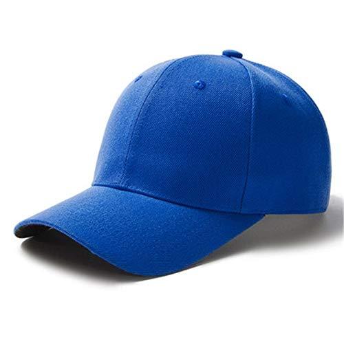 1 Uds, Gorra Unisex Informal, Gorra de béisbol de Malla Lisa, Sombreros Ajustables para Mujeres, Hombres, Gorra de Camionero de Hip Hop, Gorra de papá-Blue-54cm-60cm