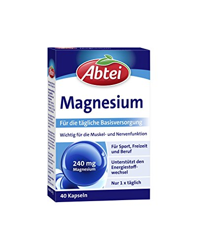 Abtei Magnesium Kapseln (1er Pack)