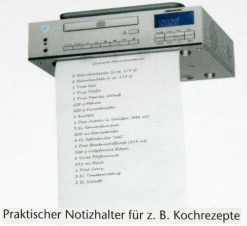 MEDION MD 83963 Unterbauradio Küchenradio mit CD MP3 Player FB Koch-Timer