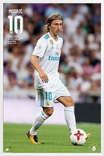 ポスター: Footballポスター–Real Madrid 2017/ 2018、ルカ・モドリッチAccion (36x 24インチ) 110989R017...
