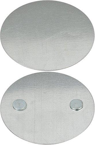 Brennenstuhl Magnet Montageplatte BR 1000 für Rauchwarnmelder (Magnethalter für Rauchmelder, Magnetbefestigung für Brandmelder)