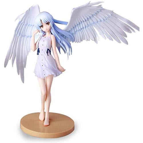 Figura de Acción Anime Figura de anime Figura de acción Angel Beats!Tachibana Kanade Angel 18cm Estatuilla Colección Decoración Adornos Niños Juguetes Doll Regalo ( Color : Tachibanakanadeangel )