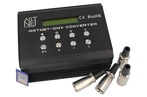 ArtNet DMX Converter Con SD Card 12V 4 Canali DMX-512
