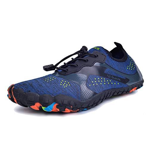 SPEEDEVE Zapatos de Agua Unisex para Buceo Snorkel Surf Piscina Playa Yoga Deportes Acuáticos