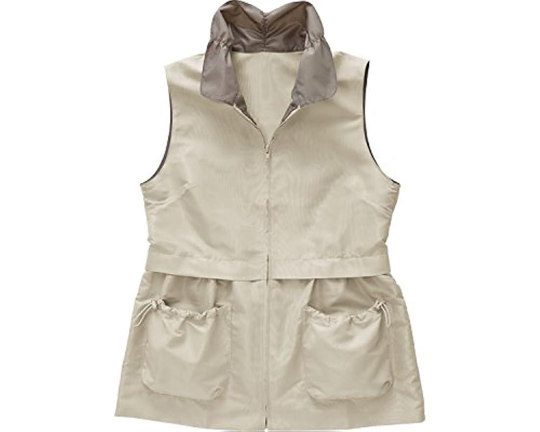 故意の許す縫う12ポケット手ぶらスタイルベスト ベージュ M 38315 (コジット) (女性用ベスト)
