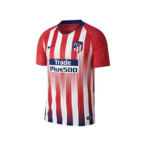 NIKE Atlético de Madrid, Temporada 2018/2019 Camiseta de Manga Corta, Hombre, 1ª Equipación, M