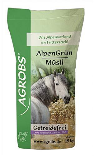 Agrobs Alpengrün Müsli, 1er Pack (1 x 15000 g)
