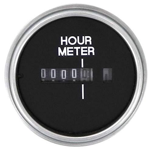 "Sierra International 82760P Heavy Duty Hourmeter for Inboard & Diesel Engines, 2"""