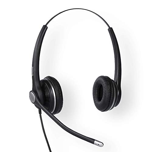 SNOM A100D Binaural Headset for all Snom desktop Telephones 3x0/D3x5/7x0/D7x5; 4342