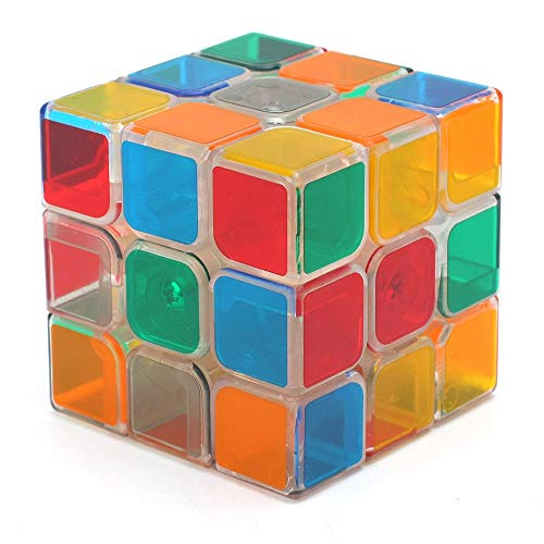 RENFEIYUAN Bastante Transparente 3x3x3 ma Juguete Educativo 3D Profesional para Adultos o...