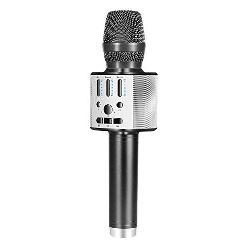 Why Should You Buy BONAOK 【2019 Upgraded 】Bluetooth Wireless Karaoke Microphone, Portable handhe...
