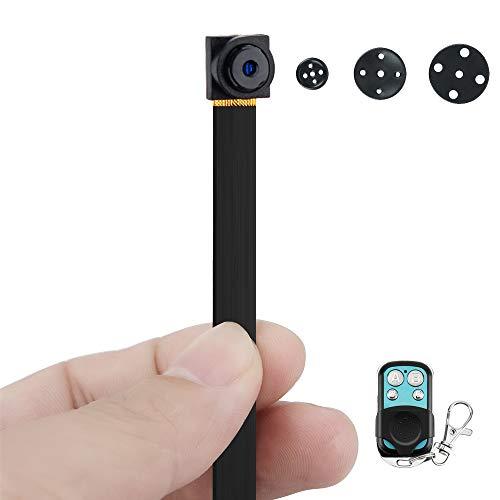 1080P HD Mini Cámara Oculta Botón con Funciones de Detección de Movimiento y Toma de Fotos, 6 Horas Video Grabación de Larga Duración, Tarjeta de Memoria de 16GB Incorporada