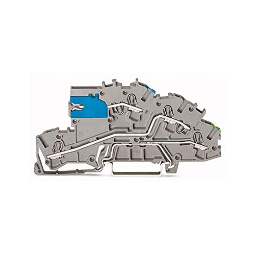 10 Stück Wago Reihenetagenklemme NT/L/PE 0,25-2,5 qmm